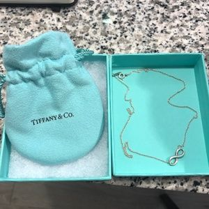 Tiffany & Co. Jewelry - Tiffany & Co Infinity Pendant Necklace